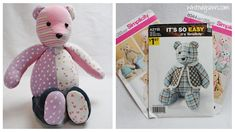 Tips and info about selecting the right memory bear pattern!