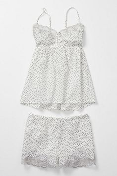 love love love this nautical nightie By The Seashore Set #anthropologie