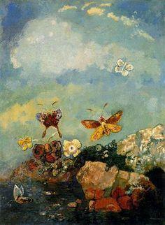 Butterflies: Odilon Redon