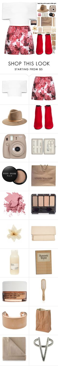 """""""Untitled #50"""" by experimental-m on Polyvore featuring Rosetta Getty, Moncler Gamme Rouge, rag & bone, Yves Saint Laurent, Fujifilm, The Body Shop, John Lewis, Bobbi Brown Cosmetics, Louis Vuitton and Clips"""