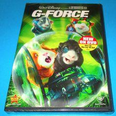 G-Force Single Disc Widescreen (DVD 2009 ) BRAND NEW- SEALED, DISNEY FREE SHIP! #GForce #animated #action #disney #movies  http://www.ebay.com/usr/vinylrockretro