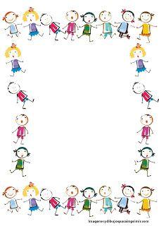 Listy zdobené děti zdobené list psát