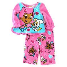 Bubble Guppies Molly Baby Toddler Fleece Pajamas (18M) Nickelodeon http://www.amazon.com/dp/B00WFEOB9A/ref=cm_sw_r_pi_dp_jtnzvb0FZNJDR