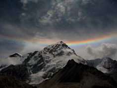 National Geographic via National Geographic Magazine  A rare optical phenomenon called a circumhorizontal arc illuminates the Nuptse summit of the Himalayas. Explore more stunning images by our photo community on the ‪#‎YourShot‬ Blog.