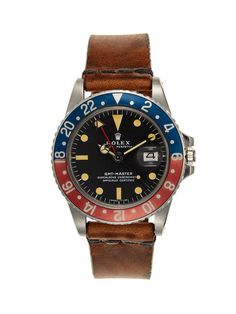 Vintage Watches Rolex Oyster Perpetual GMT-Master Watch (c. 1977)