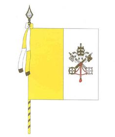 Flag of the State of Vatican City