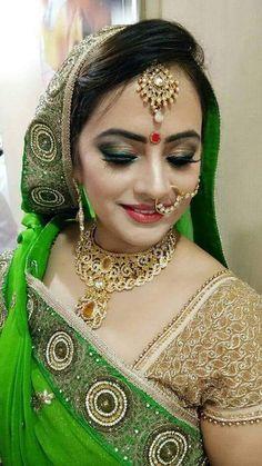 Professional Indian bridal makeup artist personabypooja.com provides latest airbrush | Eye Makeup | No. 1 Indian bridal makeup with smoky eye makeup Indian Bridal Makeup, Wedding Makeup, Smoky Eye Makeup, Small Necklace, Braut Make-up, Airbrush Makeup, Makeup Tips, Makeup Hacks, Artist