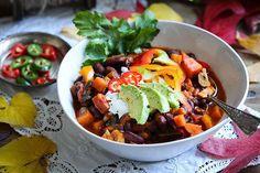 Mein Lieblings-Herbstrezept - Süßkartoffel-Gemüse-Chili für die ganze Familie