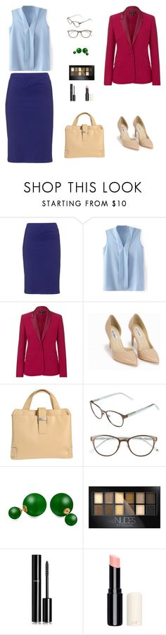 """""""Ready to success"""" by arimacias on Polyvore featuring moda, Manon Baptiste, ESCADA, Nly Shoes, MH WAY, Kate Spade, Bling Jewelry, Maybelline, Chanel y women's clothing"""