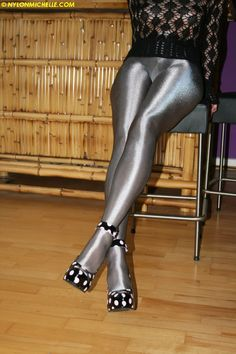 ultra shiny pantyhose