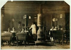 A 'colored school' at Anthoston. Census 27, enrollment 12, attendance 7. Teacher expects 19 to be enrolled after work is over. 'Tobacco keeps them out and they are short of hands.' Location: Henderson County, Kentucky, September 1913. (Photo viaLewis Hine/Library of Congress)  via @AOL_Lifestyle Read more: http://www.aol.com/article/2016/06/03/striking-photos-of-america-s-child-laborers-reveal-what-work-was/21388541/?a_dgi=aolshare_pinterest#fullscreen