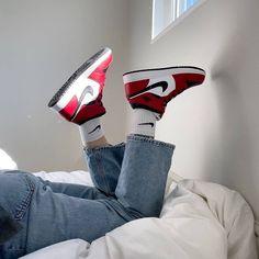 Nike Air Jordan 1 Black and Red Now available for € at PostuZap . Jordan Outfits, Jordan Shoes Girls, Girls Shoes, Zapatillas Nike Jordan, Tenis Nike Air, Nike Air Shoes, Air Jordan Sneakers, Adidas Shoes Women, Sneakers Fashion