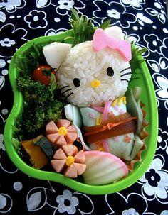 Hello Kitty Sushi.