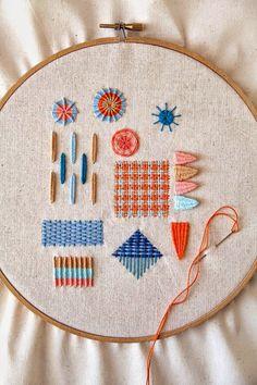 Los bordados me inspiran ¿te gusta bordar? http://www.mbfestudio.com/2014/06/bordados-inspiradores.html #bordadoamano  #bordadoabastistor #embroidery