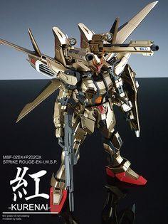 MG 1/100 Strike IWSP (KURENAI) customized build - Gundam Kits Collection News and Reviews