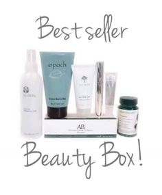 $95 plus free shipping. All your favorites in one box! Message for details. Epoch mud mask Replenishing Mist  Lash and curl mascara Contouring lip gloss Polishing peel TEGREEN97 capsules AP 24 whitening toothpaste Message for product detail❤️