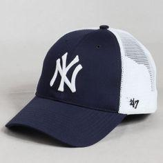 Casquette baseball Branson NY Cap Bleu