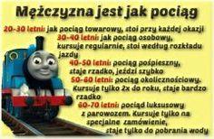mężczyzna jest jak pociąg