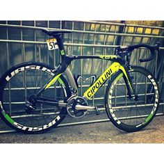 "Looking back at some of the bikes from this season had us discussing our favorites. One of them has to be Francesco Chicchi's Cipollini, shot at this year's Tour de Langkawi shortly after taking the win on stage 4 while playing some 'air violin'. ""This is how it's done"". What a tasty ride. #sprinter #1400 #watts #fluro #farnesevini #ltdl"