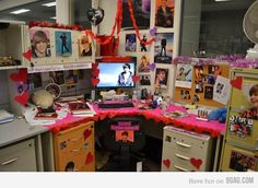 Office prank.