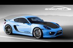 SpeedART Porsche Cayman SP81-CR