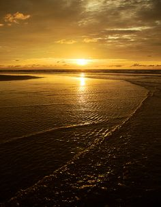 The sun sets at the serene beach-side Similajau National Park.  Photo by Plus Lee