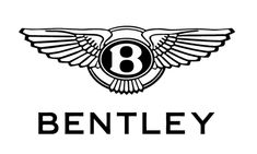 "Bentley Motors Logo - Elegant and classic logo, sporting silver, white, and black as its only colors. Above ""Bentley"" is a silver circle which houses a unique ""B,"" and features wings on either side. Bentley Logo, Bentley Car, Mclaren Mercedes, Rolls Royce, Illuminati, Volkswagen, Volvo, Occult Symbols, Stickers"