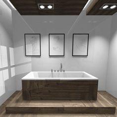 Chwile mnie nie było ale wracam ze wstępnym projektem jednej części salonu kąpielowego, idziemy w naturę ! 🖤🌿  #bathroom  #bathroomdesign  #woodceramic  #whiteandwood   #myproject  #interiordesign