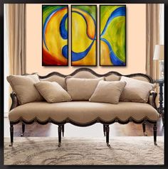 Gen869+36x24+Original+Abstract+Painting+by+Geni+by+genistudio