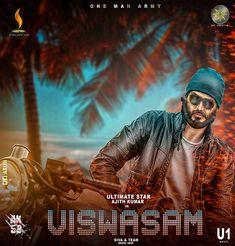 VISWASAM HD poster Design/Arun DotCreation