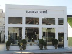 dan marty interior decorating - his shop MAISON AU NATUREL