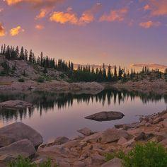 Photo: @roundthemountainut | Lake Mary Utah USA | #outbackcollective | by outbackcollective