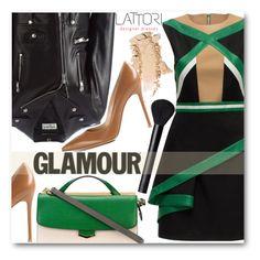 """Glamour(Lattori)"" by pokadoll ❤ liked on Polyvore featuring Lattori, Gianvito Rossi, Yves Saint Laurent, Fendi, NARS Cosmetics and lattori"