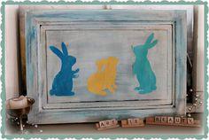 15 Bunny Silhouette Crafts @CraftBits  CraftGossip