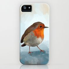 Robin iPhone Case by Freeminds - $35.00