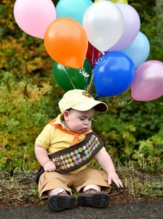 Disney Pixar UP Russell costume for first birthday or Halloween