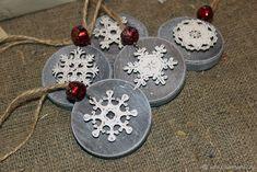 """Набор подвесок """"Snowflakes"""" – купить в интернет-магазине на Ярмарке Мастеров с доставкой"""