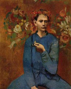 "PABLO PICASSO  ""Garçon a la pipe"", 1904"