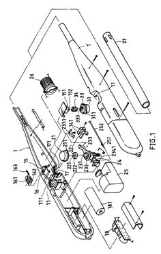 The internal components of a Zippo lighter