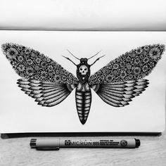 Pavneet Sembhi est une dessinatrice londonienne qui réalise des dessins ultra-détaillés à l'encre noire.