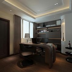 Домашний кабинет. 50 различных вариантов. - Сундук идей для вашего дома - интерьеры, дома, дизайнерские вещи для дома