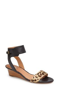 Love these! Halogen® 'Holly' Low Wedge Sandal available at #Nordstrom