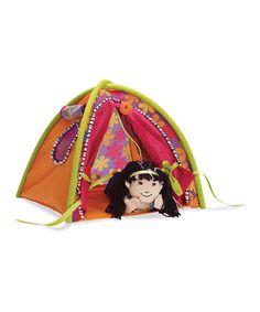 Look at this #zulilyfind! Totally Tentastic Tent for Groovy Girls Dolls #zulilyfinds