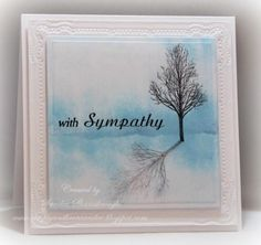 DTGD14UnderstandBlueA, With Sympathy by stampersandee - Cards and Paper Crafts at Splitcoaststampers
