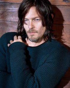 Norman Reedus photographed by Mark Seliger for Details Magazine (outtakes)
