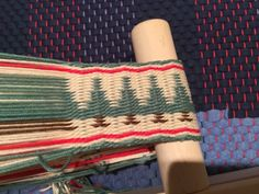 I have a very nice tradition - a new loom for a new year! This year I was blessed with Schacht Inkle loom. It was a kit from Woolery with...