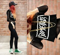 ALL STAR. (by Lua P) http://lookbook.nu/look/3819191-ALL-STAR
