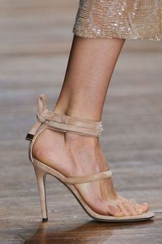 Shoes . . . Nude Straps