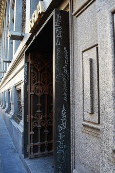 Calle de Sevilla. Barrio de Sol. Madrid 2015