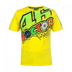 Cheaper US $13.82  2017 VR46 Valentino Rossi  T-Shirt  Moto GP Motorcycle Racing 46 The Doctor signature Yellow T shirt  #Valentino #Rossi #TShirt #Moto #Motorcycle #Racing #Doctor #signature #Yellow #shirt  #Online